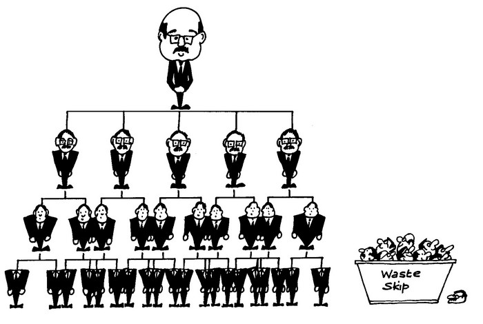 Hierarchy-cartoon